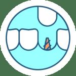 Dantų implantacija icon