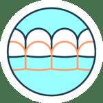Dantų tiesinimas skaidriomis kapomis icon